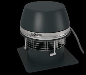 Extracteur de fumée électrique Exodraft RSHT - extraction horizontale - haute température max / 700