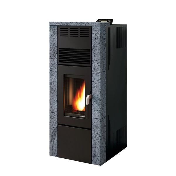 po le granule palazzetti ecofire rossella 12kw chemineeo. Black Bedroom Furniture Sets. Home Design Ideas