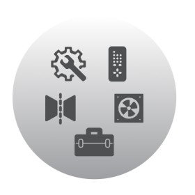 Jotul F600 - Connexion pour l'alimentation externe en air de combustion