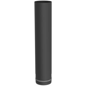 Conduit poêle à granule - Elément droit 500mm - noir - Tecnovis Pellet-Line