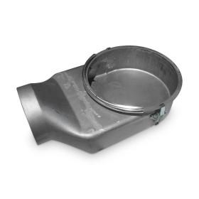 Pièce Spartherm de raccordement séparée pour l'air de combustion avec verrouillage à une main