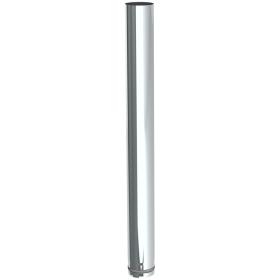 Conduit poêle à granule - Elément droit 1000mm - non peint - Tecnovis Pellet-Line