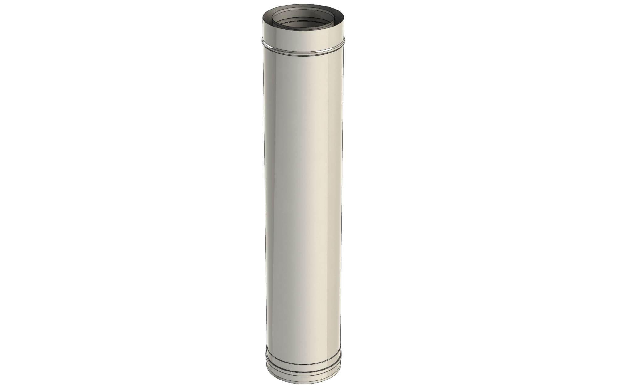 element-droit-1000mm-inox-twin-biosmass