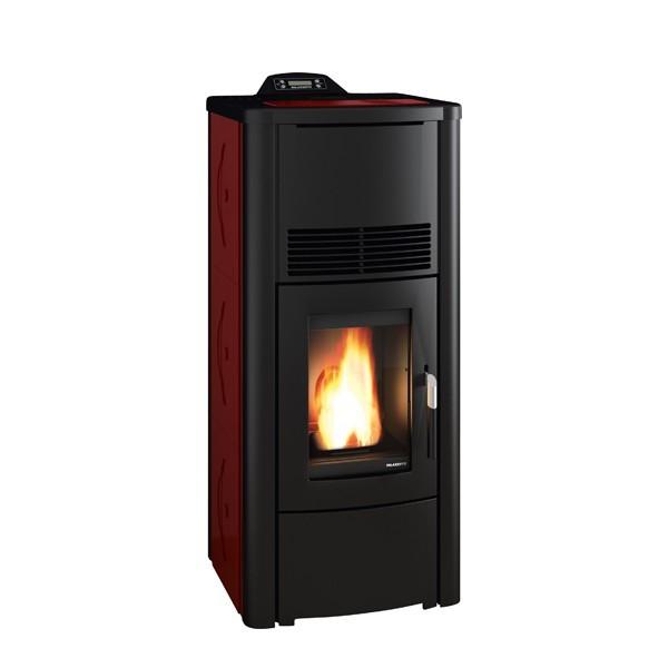 po le granul s palazzetti ecofire rosa idro 13kw hydro chemineeo. Black Bedroom Furniture Sets. Home Design Ideas