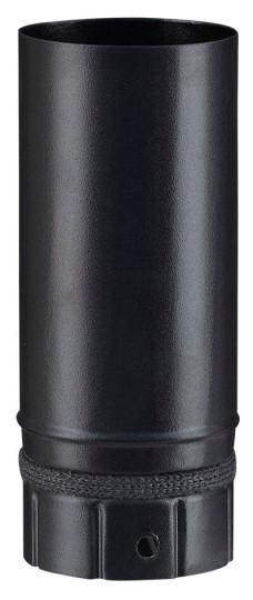 Elément droit noir mat 250 mm pour poêle a granulés - Poujoulat