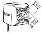 Rauchsauger RSV - vertikal auswerfend - exodraft