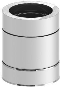Elément droit inox 250mm - double paroi - TEC-DW-STANDARD