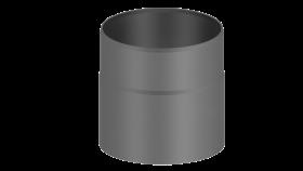 Elément droit 150mm gris - Conduit poêle à bois - double paroi - TEC-FR-ISOLINE