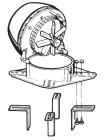Rauchsauger - horizontal auswerfend - exodraft