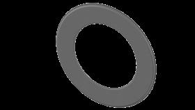 Conduit poêle à bois - double paroi - Rosace murale jusqu'à 55 mm gris - TEC-FR-ISOLINE