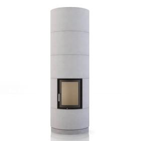 Foyer BRUNNER KSO 33r, avec accumulation de chaleur 1,7 kW, avec porte basculante