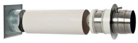 Double clapet LKH à commande manuelle pour l'alimentation en air frais - CB-tec
