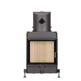 Insert bois BRUNNER 51/55 - 8kW – porte pivotante et vitre plate