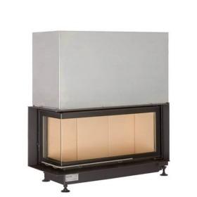 Insert bois BRUNNER ARCHITECTURE 38/86/36 – 10kW avec vitre angulaire