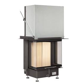 Insert bois BRUNNER Panoramique 57/25/60/25 – 11kW avec porte relevable (easy lift)