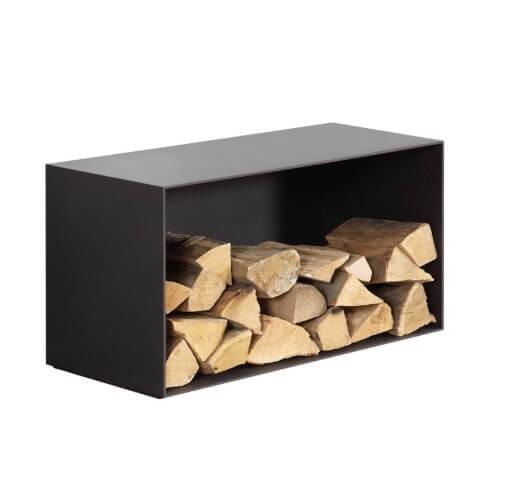 Olsberg compartiment pour bois 430x640x400, droite