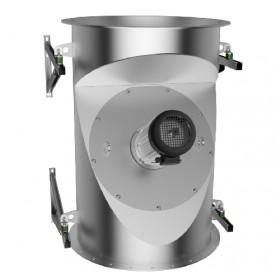 Rauchsauger Zubehör Wandkonsolen für vertikalen Einbau - Kutzner & Weber