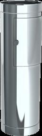 Tube d'entrée de linge avec porte de hauteur 980mm- Système chute à linge
