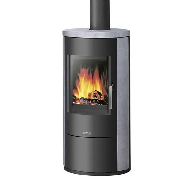 po le bois justus austin 7 kw chemineeo. Black Bedroom Furniture Sets. Home Design Ideas