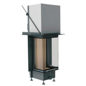 Insert bois BRUNNER Panoramique 70/25/40/25 – 8kW porte relevable (easy lift)