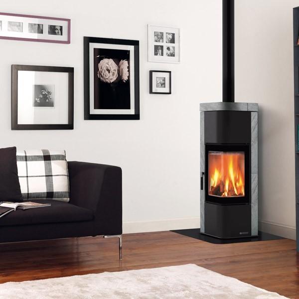 po le bois la nordica zen 7 5kw chemineeo. Black Bedroom Furniture Sets. Home Design Ideas