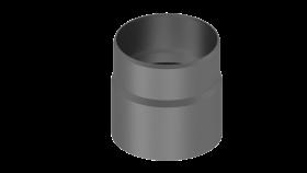 Adaptateur buse - conduit de cheminée - gris - TEC-FR-ISOLINE