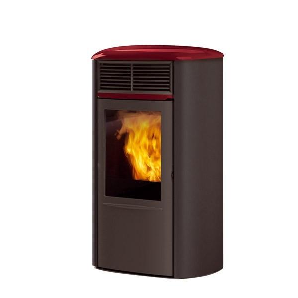 Superb habillage de cheminee exterieur 13 aris acciaio - Habillage de cheminee exterieur ...