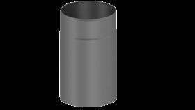 Elément droit 250mm gris - Conduit poêle à bois - double paroi - TEC-FR-ISOLINE
