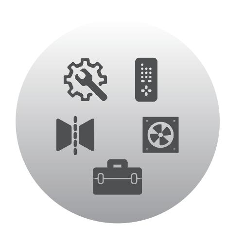 Accessoires Austroflamm – adaptateur d'air Ah