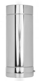 Elément droit inox 500mm- double paroi - TEC-DW-STANDARD