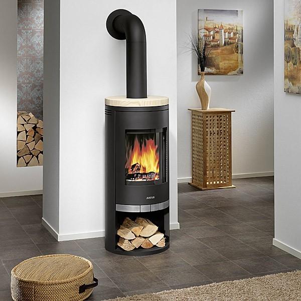 po le bois justus faro 6 kw chemineeo. Black Bedroom Furniture Sets. Home Design Ideas