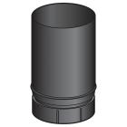 Tuyau emaille noir mat 250 mm - poêle a bois - Poujoulat