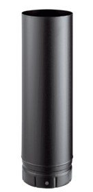 Tuyau émaillé noir mat 500 mm pour poêle a bois - Poujoulat