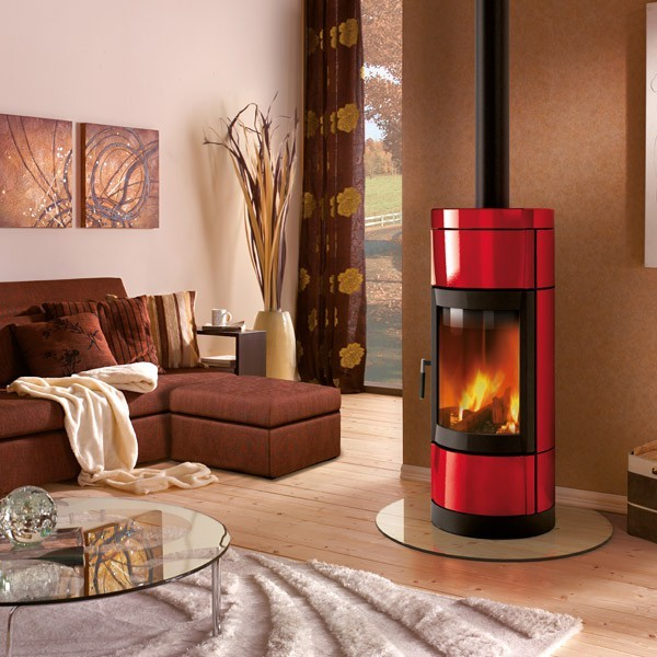 po le bois la nordica fortuna 7kw rotatif chemineeo. Black Bedroom Furniture Sets. Home Design Ideas