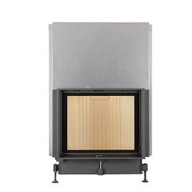 Insert bois BRUNNER Compacte 57/67 – 11kW avec porte coulissante et vitre plate