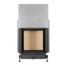 Insert bois BRUNNER Compacte 57/55 – 8kW avec porte coulissante et vitre plate