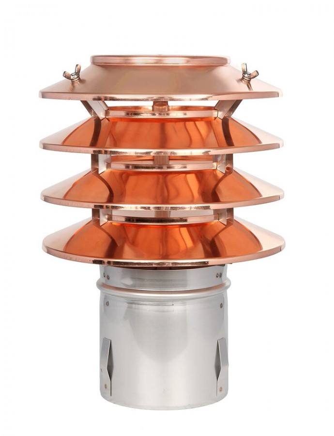 Lamellenaufsatz-Hubo1cu-Kupfer