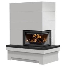Poêle cheminée ORANIER accumulateur Quadrum W+ 7kW