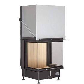 Insert bois BRUNNER Panoramique 57/40/60/40 – 13kW avec porte relevable (easy lift)
