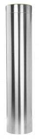 Elément droit inox 1000mm - double paroi - TEC-DW-DESIGN
