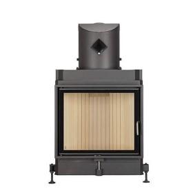 Insert bois BRUNNER Compacte 57/67 – 11kW avec porte pivotante et vitrage plat