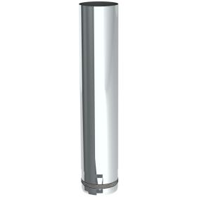 Conduit poêle à granule - Elément droit 500mm - non peint - Tecnovis Pellet-Line