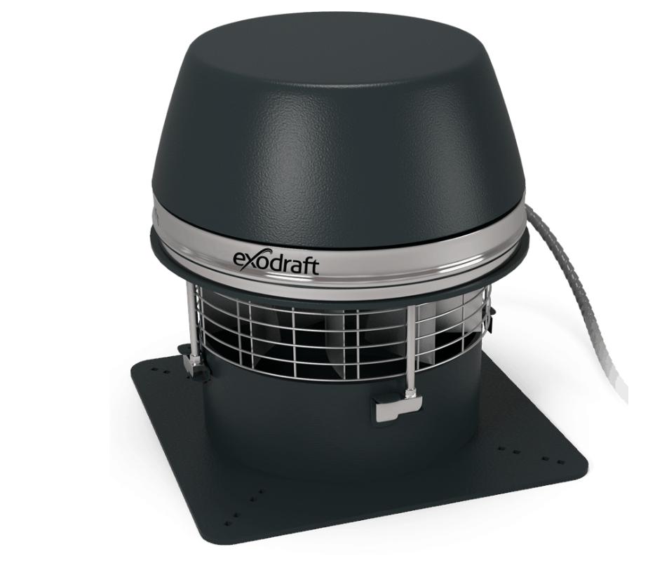 extracteur de fum e lectrique exodraft rsht vacuation. Black Bedroom Furniture Sets. Home Design Ideas