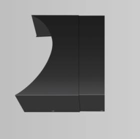 Oranier- AquaCover, Cache télescopique pour Polar Aqua en acier noir