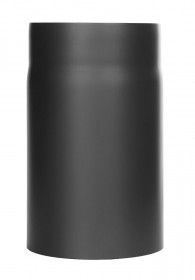 Elément droit 250mm noir - Conduit poêle à bois - TEC-FR