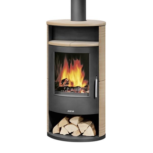 po le bois justus island 7 6 5 kw chemineeo. Black Bedroom Furniture Sets. Home Design Ideas