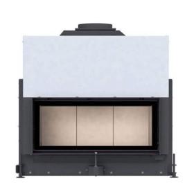 Insert bois BRUNNER ARCHITECTURE 38/86 k avec porte relevable (easy-lift) de 10kW