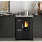 Pelletherd Eva Calor Nina Einbauversion 7,5kW