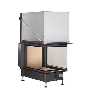 Insert bois BRUNNER Panoramique 51/66/50/66 – 14,5kW avec porte relevable (easy lift)