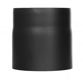 Elément droit 150mm noir - Conduit poêle à bois - TEC-FR